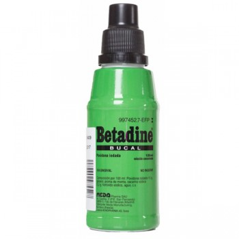 Betadine Bucal 100 Mg/ml...