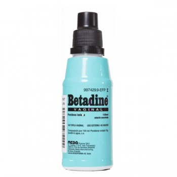 Betadine Vaginal 100 Mg/ml...