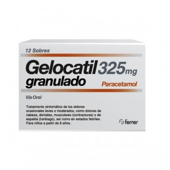 Gelocatil 325 Mg 12 Sobres...