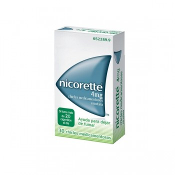 NICORETTE 4 MG 30 CHICLES...