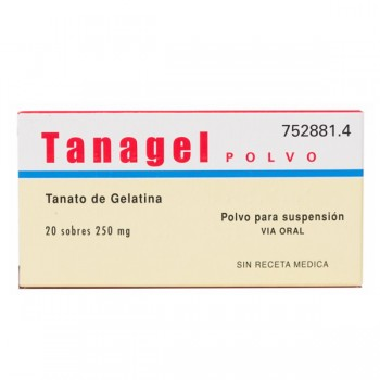 Tanagel Polvo 250 Mg 20...