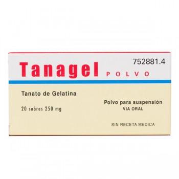 TANAGEL 250 MG 20 SOBRES...