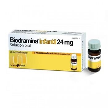 BIODRAMINA INFANTIL 24 MG 5...