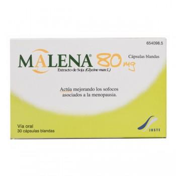 Malena 80 Mg 30 Capsulas