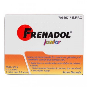 FRENADOL JUNIOR 10 SOBRES...