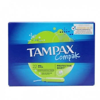 TAMPAX COMPAK TAMPON...