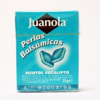 JUANOLA PERLAS MENTOL...