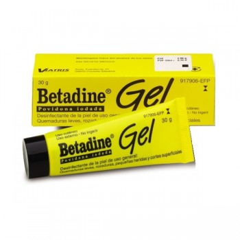 Betadine 100 Mg/g Gel...