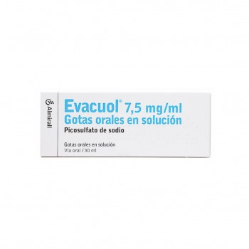 Evacuol 7.5 Mg/ml Gotas...