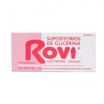 Supositorios Glicerina Rovi...