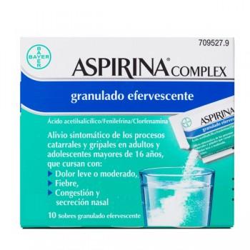 Aspirina Complex 10 Sobres...